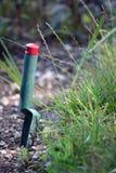 trädgårds- spade Arkivfoton