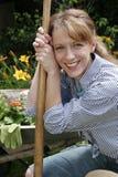 trädgårds- stående Royaltyfria Foton