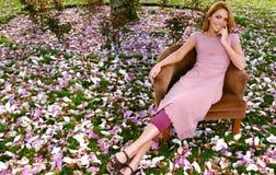 trädgårds- stående Royaltyfri Bild