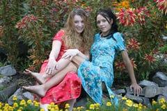 trädgårds- stående Fotografering för Bildbyråer