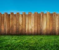 Trädgårds- staket arkivbilder
