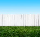 Trädgårds- staket royaltyfria foton