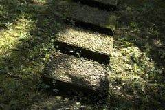 trädgårds- stenar Arkivbilder