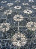 trädgårds- stenläggning Arkivbilder
