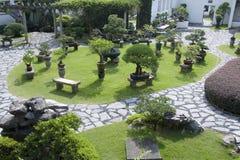 trädgårds- stil för kines Arkivbild