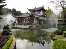trädgårds- stil för kines Arkivfoto