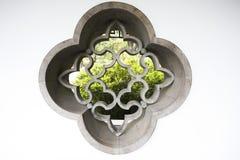trädgårds- stilfönster för kines royaltyfri bild