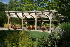 trädgårds- struktur Arkivbild