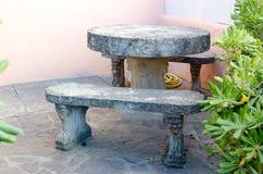 Trädgårds- tabell Royaltyfri Foto