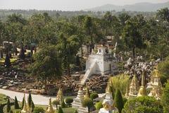 Trädgårds- tempel Fotografering för Bildbyråer