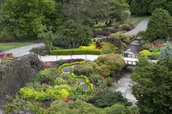 trädgårds- trädgårdar hamilton New Zealand för design Royaltyfri Foto