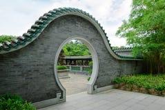 trädgårds- traditionellt för kines Arkivbilder