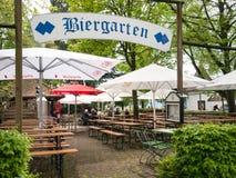 trädgårds- tysk för öl arkivbilder