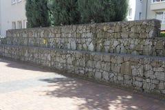 Trädgårds- vägg fotografering för bildbyråer