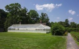 Trädgårds- växthus Arkivfoto