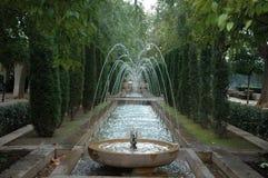 trädgårds- vatten arkivbilder