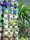 trädgårds- vertical Arkivbilder