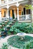 trädgårds- victorian royaltyfri fotografi
