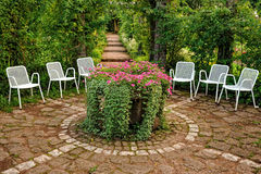 trädgårds- vila för ställe Royaltyfria Foton