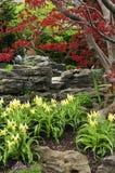 trädgårds- zen Fotografering för Bildbyråer