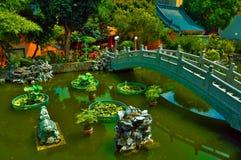trädgårds- zen för kines Arkivfoton