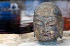 Trädgårds- Zen Statue Fotografering för Bildbyråer