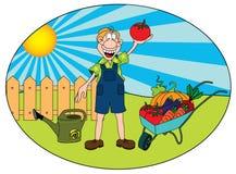 trädgårdsmästare Arkivbilder