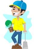 trädgårdsmästare Arkivfoton