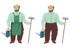 trädgårdsmästare stock illustrationer