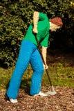 Trädgårdsmästare i lego i den Planckendael zoo Royaltyfri Bild