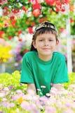 trädgårdsmästare little arkivfoto
