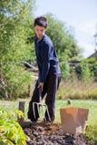 trädgårdsmästarebarn Royaltyfri Fotografi