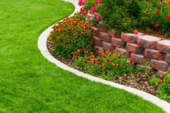Trädgårdträdgård royaltyfri bild
