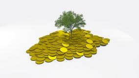 Trädpengar Royaltyfria Bilder