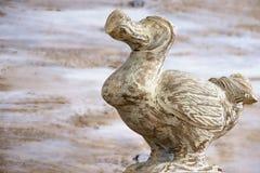 Trädrontfågel - typisk souvenir från den Mauritius ön arkivfoto