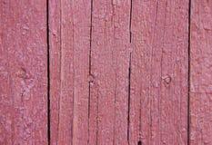 trädstruktur av gamla trädörrar och plankor som målas och spricka Royaltyfria Bilder