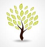 Trädsymbol vektor illustrationer