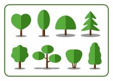 Trädsymbolsuppsättning 2