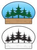 Trädtecken Arkivbild