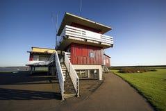 träfärgglatt hus Fotografering för Bildbyråer
