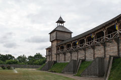 Träfästning arkivbilder