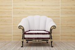 träfåtöljlokal Royaltyfri Foto