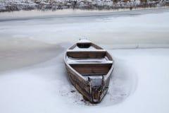 Träfartyg Fotografering för Bildbyråer