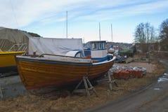 träfartyglagring Royaltyfri Bild
