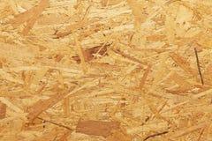 Träflismaterial OSB, textur - naturlig bakgrund Arkivfoto