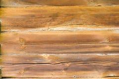 trägammal vägg Arkivbild