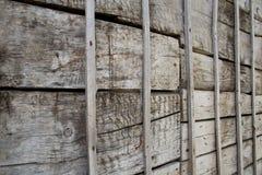 trägammal vägg Royaltyfria Foton