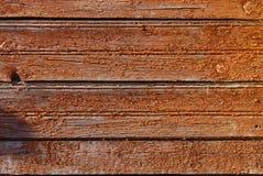 trägammal vägg Arkivfoton