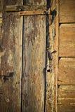 trägammal vägg för bakgrund Royaltyfria Bilder