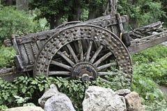trägammal vagn Royaltyfri Fotografi